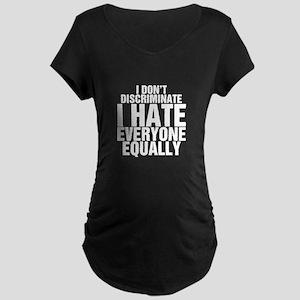 Hate Equally Maternity Dark T-Shirt