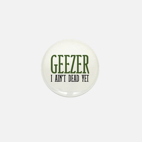 Geezer Mini Button