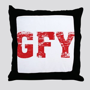 GFY Throw Pillow