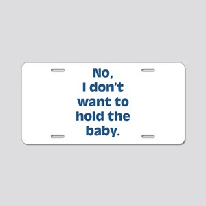Anti Baby Aluminum License Plate