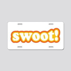 Swoot Aluminum License Plate