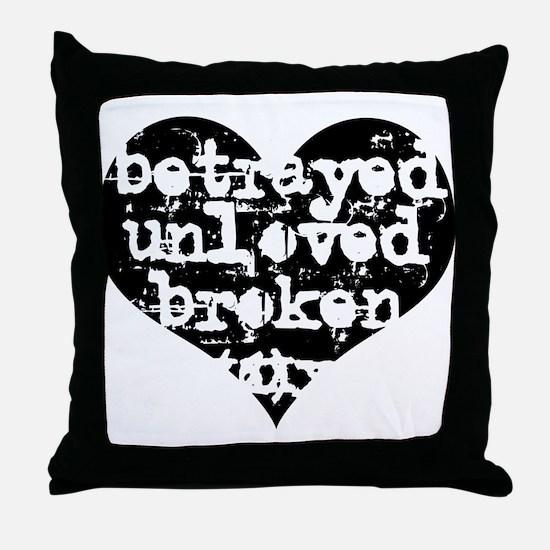 Betrayed Throw Pillow