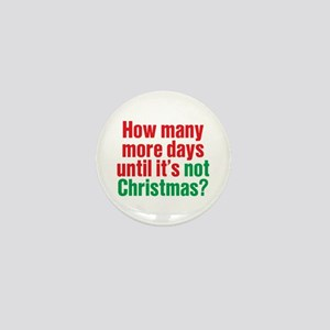Not Christmas Mini Button