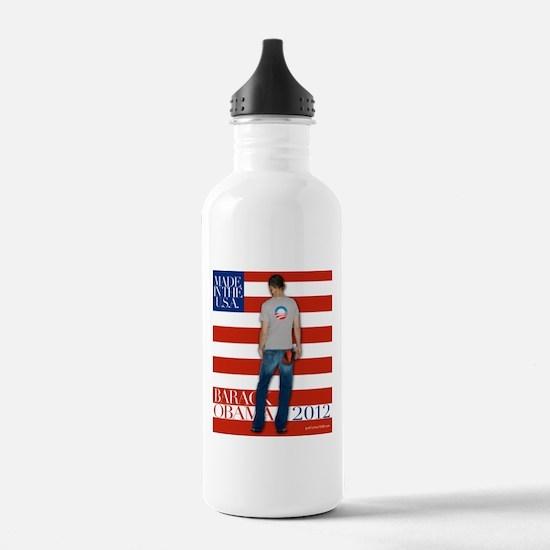 Obama for president 2012 Water Bottle