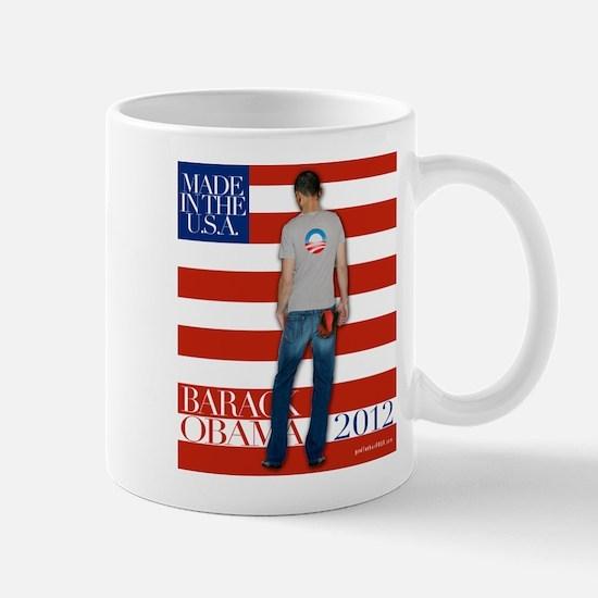 Obama for president 2012 Mug