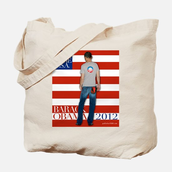 Obama for president 2012 Tote Bag