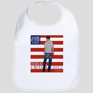 Obama for president 2012 Bib