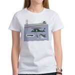 justcoming-shark-helicopter T-Shirt