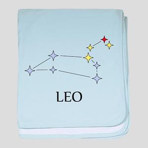 Leo baby blanket