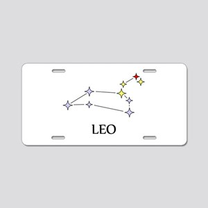 Leo Aluminum License Plate