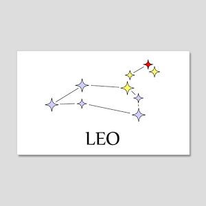Leo 22x14 Wall Peel
