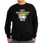 2012 jon huntsman tea party Sweatshirt (dark)
