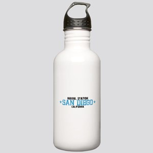 Naval Station San Diego Stainless Water Bottle 1.0
