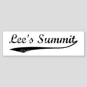 Vintage Lee's Summit Bumper Sticker