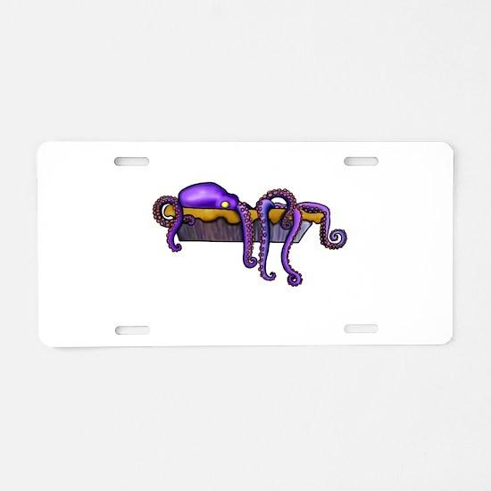 Octopie Aluminum License Plate
