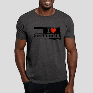 I Love Oklahoma Dark T-Shirt