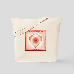ACIM-Present Love Tote Bag
