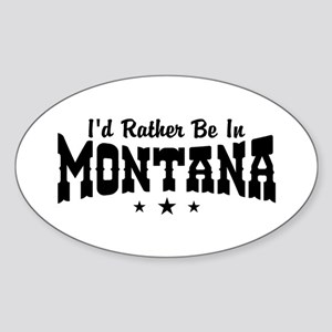 Montana Sticker (Oval)
