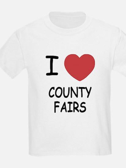 i heart county fairs T-Shirt