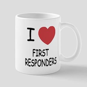 i heart first responders Mug