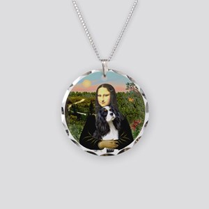 Mona Lisa's Tri Cavalier (#5) Necklace Circle Char