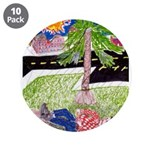 """Reclining in Palms Park 3.5"""" Button (10 pack)"""