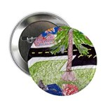 """Reclining in Palms Park 2.25"""" Button"""