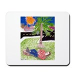 Reclining in Palms Park Mousepad