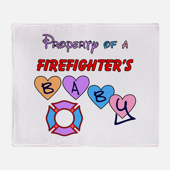 Property of FF's Baby! Throw Blanket