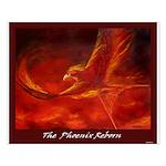 Phoenix Bird Reborn Poster