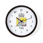 Dry Bones Kosher Clock