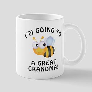Going To Bee A Great Grandma Mug