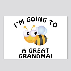 Going To Bee A Great Grandma Postcards (Package of