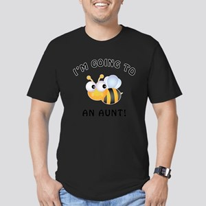 Going To Bee An Aunt Men's Fitted T-Shirt (dark)