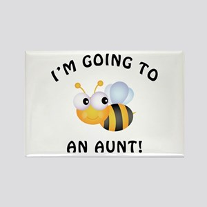 Going To Bee An Aunt Rectangle Magnet