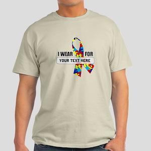 Ribbon for... Personalizable! Light T-Shirt