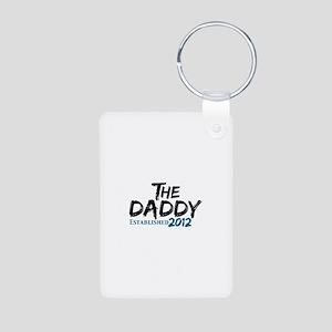 The Daddy Est 2011 Aluminum Photo Keychain