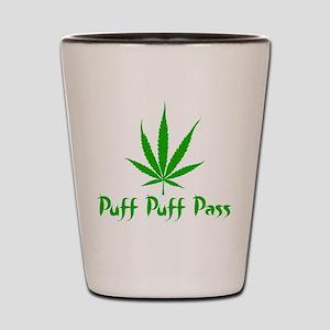 Puff Puff Pass - Leafy Shot Glass