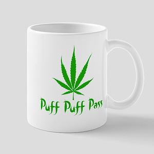 Puff Puff Pass - Leafy Mug