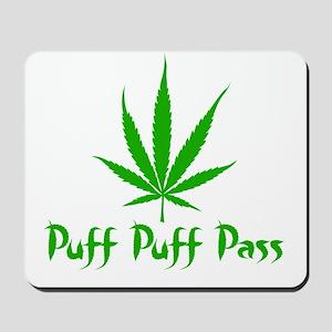 Puff Puff Pass - Leafy Mousepad