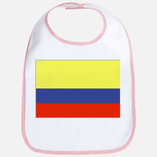 Colombian Flag 1 Bib