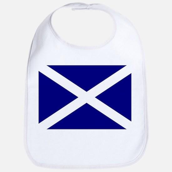 Scottish Flag St. Andrew 1 Bib