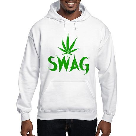 Weed Swag Hooded Sweatshirt