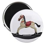 Childrens toy rocking horse design Magnets