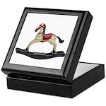 Childrens toy rocking horse design Keepsake Box