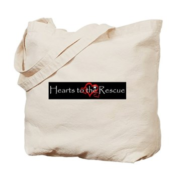 Hearts to the RescueTote Bag