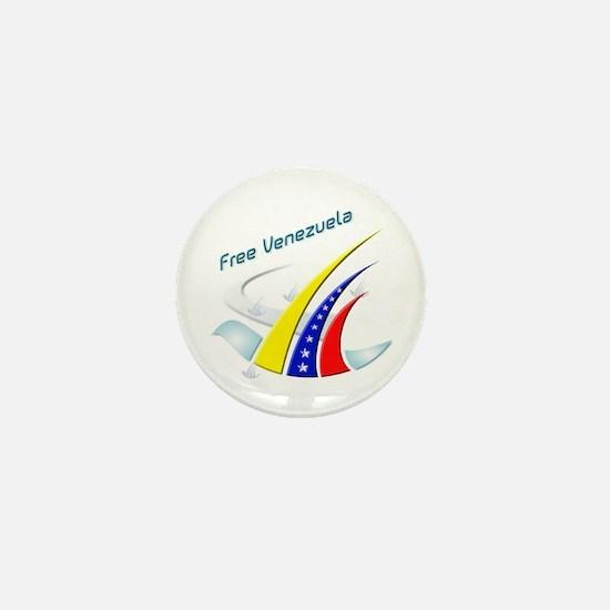 Venezuela Free Mini Button
