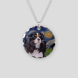 Starry / Cavalier (Tri-B) Necklace Circle Charm
