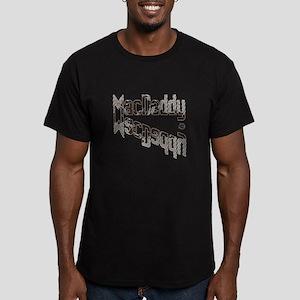 MACDADDY Men's Fitted T-Shirt (dark)
