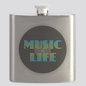 MUSIC is LIFE Flask